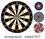 Dart Board And Other Target...