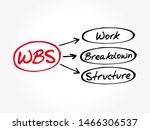wbs   work breakdown structure... | Shutterstock .eps vector #1466306537