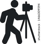 photographing icon. photograph... | Shutterstock .eps vector #1466309594