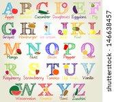 fruit  vegetables and food...   Shutterstock .eps vector #146638457