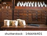 Chinese Herbs Used In Placing...
