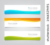 vector abstract banner design... | Shutterstock .eps vector #1466529491