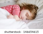 Adorable Little Girl Sleeping...