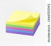 realistic block of multi... | Shutterstock .eps vector #1466553341