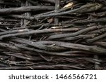 the texture of the intertwined... | Shutterstock . vector #1466566721