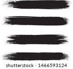 brush stroke set isolated on... | Shutterstock .eps vector #1466593124