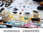 meditation grid kit. quartz... | Shutterstock . vector #1466642081