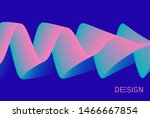 abstract wavy background with...   Shutterstock .eps vector #1466667854