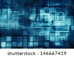 virtual technology  background | Shutterstock . vector #146667419