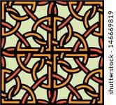celtic ornament  seamless... | Shutterstock .eps vector #146669819