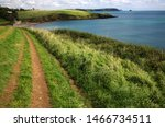 Cornwall England. View Of A...