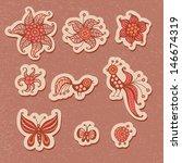 set of elements for design ... | Shutterstock .eps vector #146674319