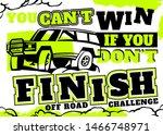 motorsport event poster.... | Shutterstock .eps vector #1466748971