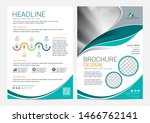 brochure layout template ... | Shutterstock .eps vector #1466762141