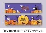 Happy Halloween 3d Papercut...