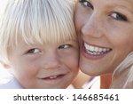 closeup portrait of happy... | Shutterstock . vector #146685461