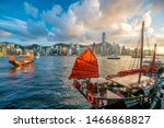 Victoria Harbour  And Hong Kong ...