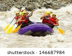 Rafting Water White Group Of...