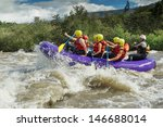 Rafting Water White River Team...