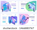set of isometric concepts...   Shutterstock .eps vector #1466883767
