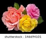 Romantic Bouquet Of Three...