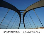 The Schwedter Steg is a fake arched bridge in Berlin