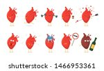 sad sick unhealthy cry and...   Shutterstock .eps vector #1466953361