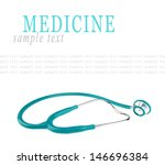 stethoscope isolated on white... | Shutterstock . vector #146696384
