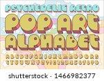 a classic bold pop culture... | Shutterstock .eps vector #1466982377