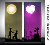 love website banner set.   Shutterstock .eps vector #146698451