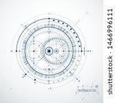 engineering technological... | Shutterstock .eps vector #1466996111