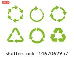 recycle icon template color... | Shutterstock .eps vector #1467062957