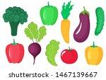 vegetables set of beet ...   Shutterstock .eps vector #1467139667