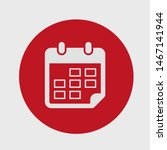calendar vector icon. web...   Shutterstock .eps vector #1467141944
