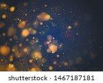 blurred bokeh light on dark...   Shutterstock .eps vector #1467187181