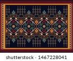 colorful ornamental vector... | Shutterstock .eps vector #1467228041