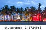 miami beach  florida  hotels...   Shutterstock . vector #146724965