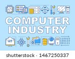 computer industry word concepts ...