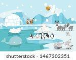 animals north pole arctic...   Shutterstock .eps vector #1467302351