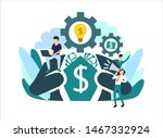 business concepts for... | Shutterstock .eps vector #1467332924