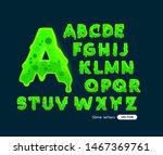 fun glowing green slime letters ...   Shutterstock .eps vector #1467369761