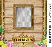 royal art vintage frame and... | Shutterstock .eps vector #1467447284