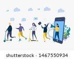 vector illustration  concept of ... | Shutterstock .eps vector #1467550934