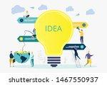 new idea  imagination ...   Shutterstock .eps vector #1467550937