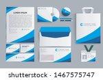 business stationery mockup...   Shutterstock .eps vector #1467575747