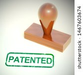 patented concept icon means... | Shutterstock . vector #1467603674
