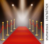 award ceremony red carpet and... | Shutterstock .eps vector #1467607424