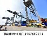 Tuzla Shipyard And Harbor....