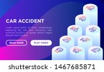 car accident web page template... | Shutterstock .eps vector #1467685871