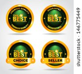 set of label. premium quality.... | Shutterstock .eps vector #146775449